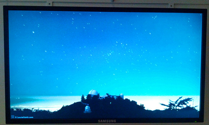 Lick Observatory meteor shower