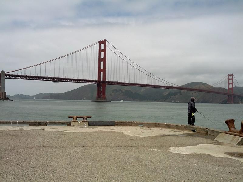 旧金山金门大桥码头