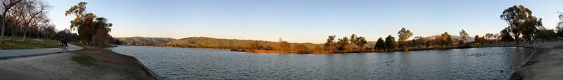 fremont central park-Lake Elizabeth panorama
