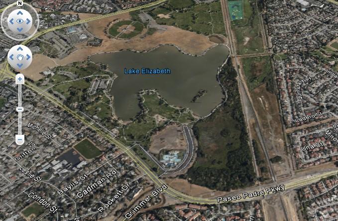 fremont central park-map