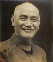 Chiang Kai-shek (蒋介石) 被回译成常凯申