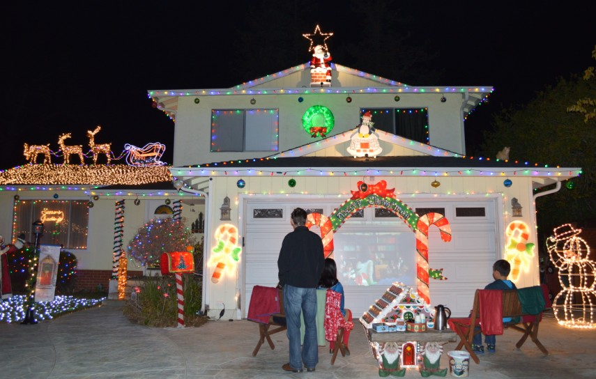 fremont xmas lights - 40012 Catalina Pl