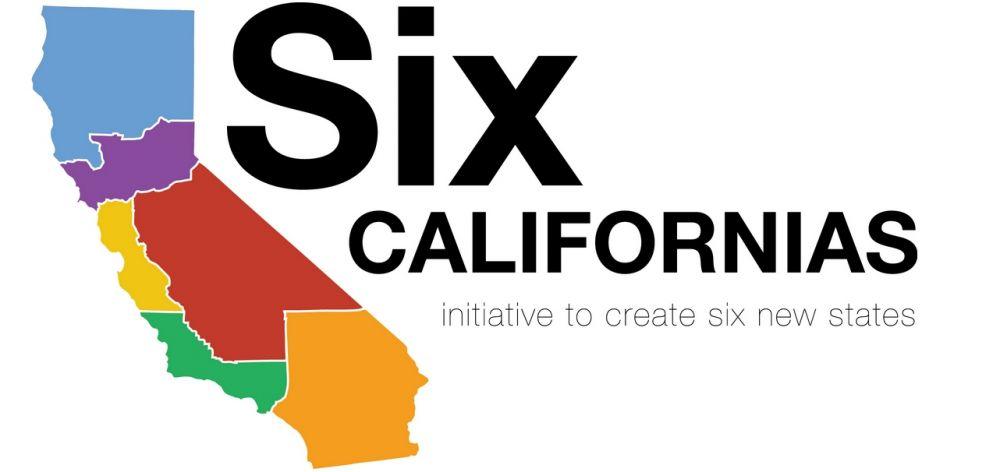 把加州分成六个州的提议