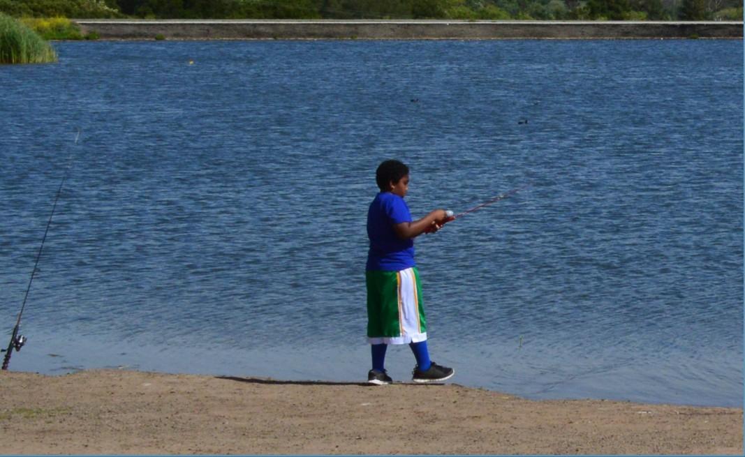 sandy wool lake_fishing