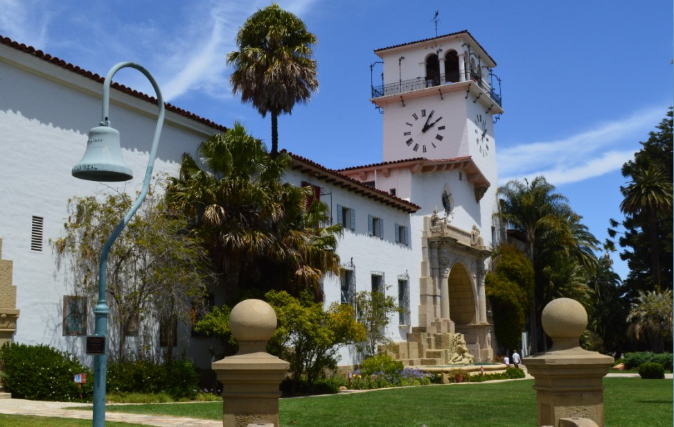 santa barbara county courthouse_front