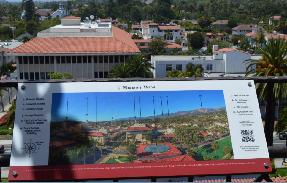 santa barbara county courthouse_mission view