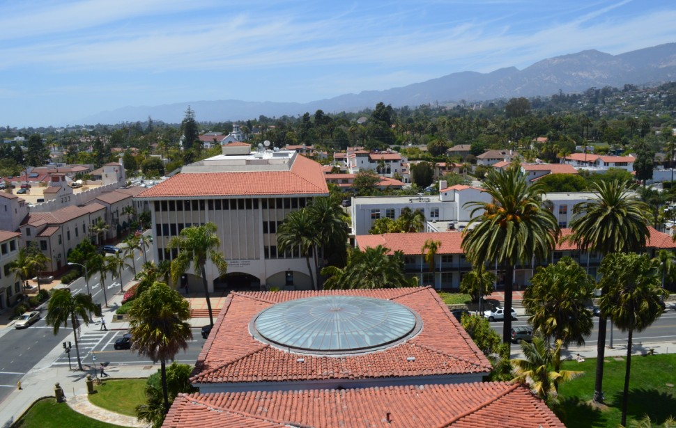santa barbara county courthouse_mission view2