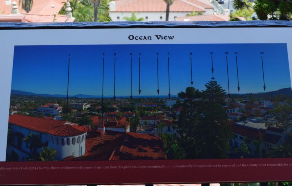 santa barbara county courthouse_ocean view