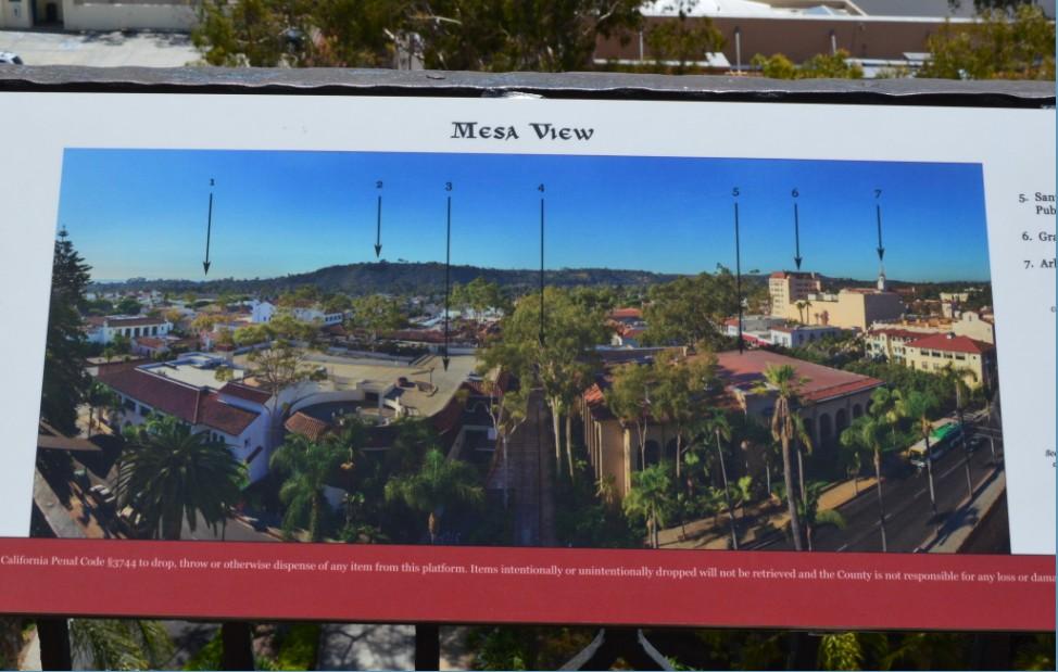 santa barbara county courthouse_tower_mesa view