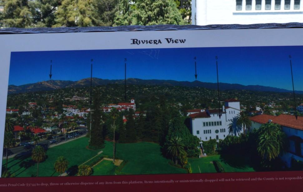 santa barbara county courthouse_tower_riviera view2