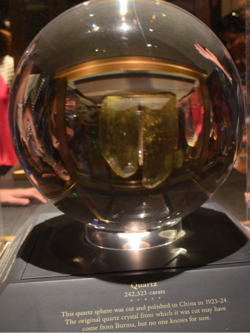 washington-dc-The National Museum of Natural History_quartz sphere china