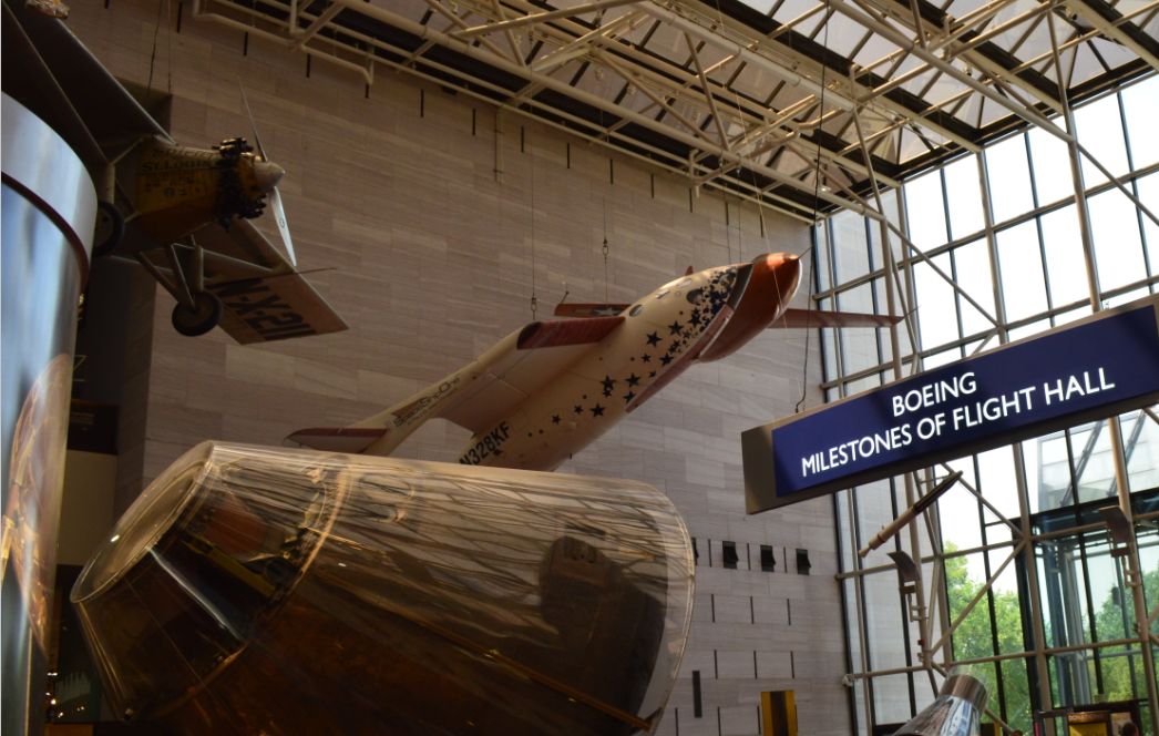 National Air and Space Museum-boeing flight hall