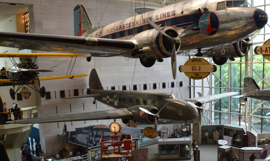 National Air and Space Museum-united air lines