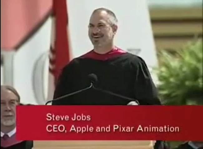 steve jobs stanford commencement address 2005