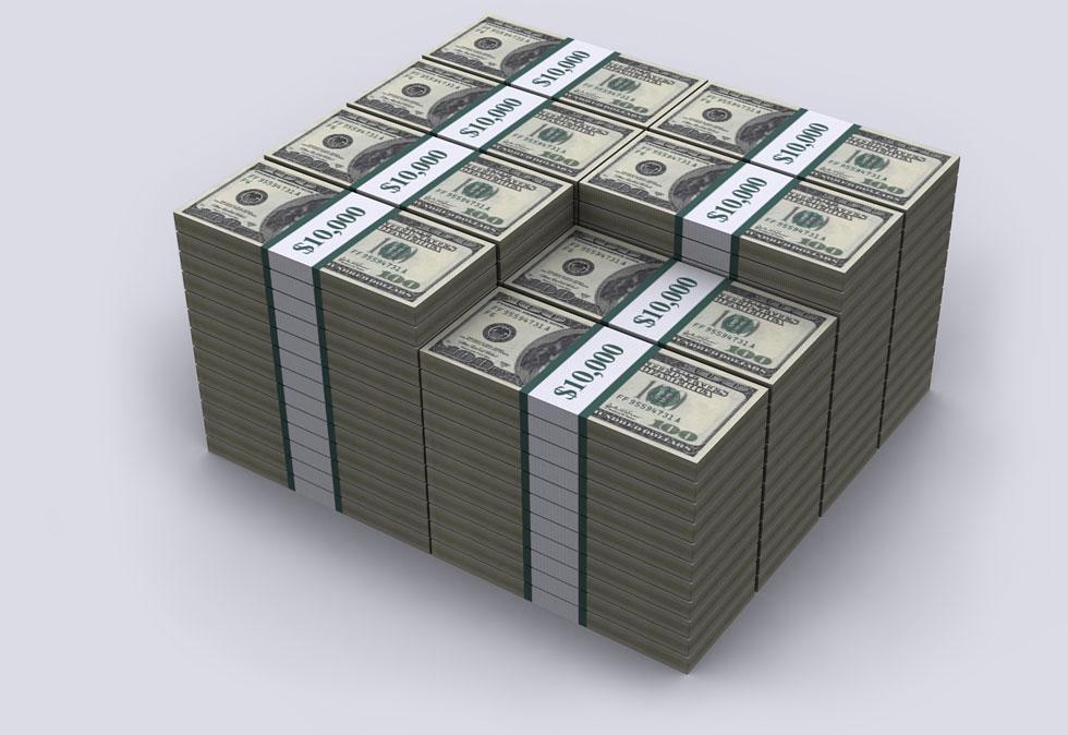 一百万美元