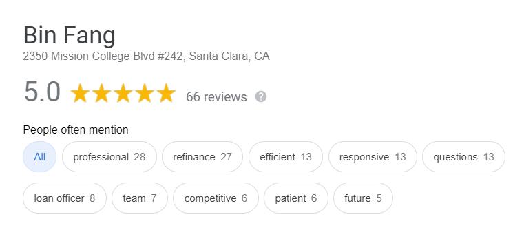 Bin Fang_Google Review